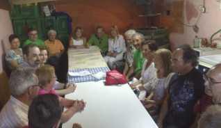 Reunión de Izquierda Socialista en Sitrama de Tera